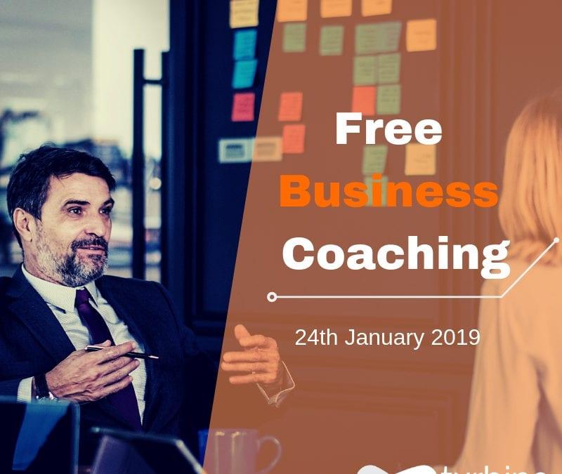 24/01/2019: Free Business coaching